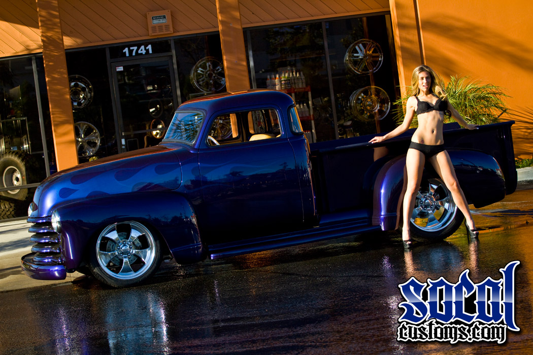 Socalcustoms Com Fifty 5 Window Feature Truck With Model